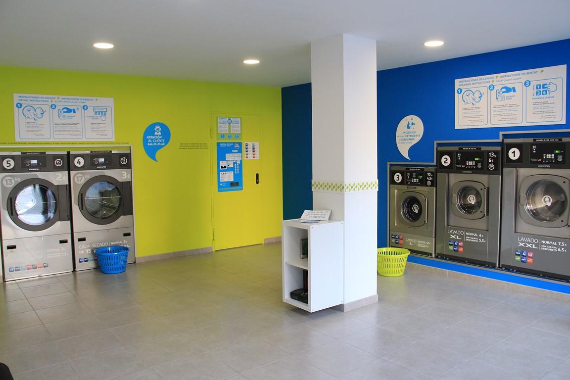 nueva lavander a autoservicio la wash en el barrio de