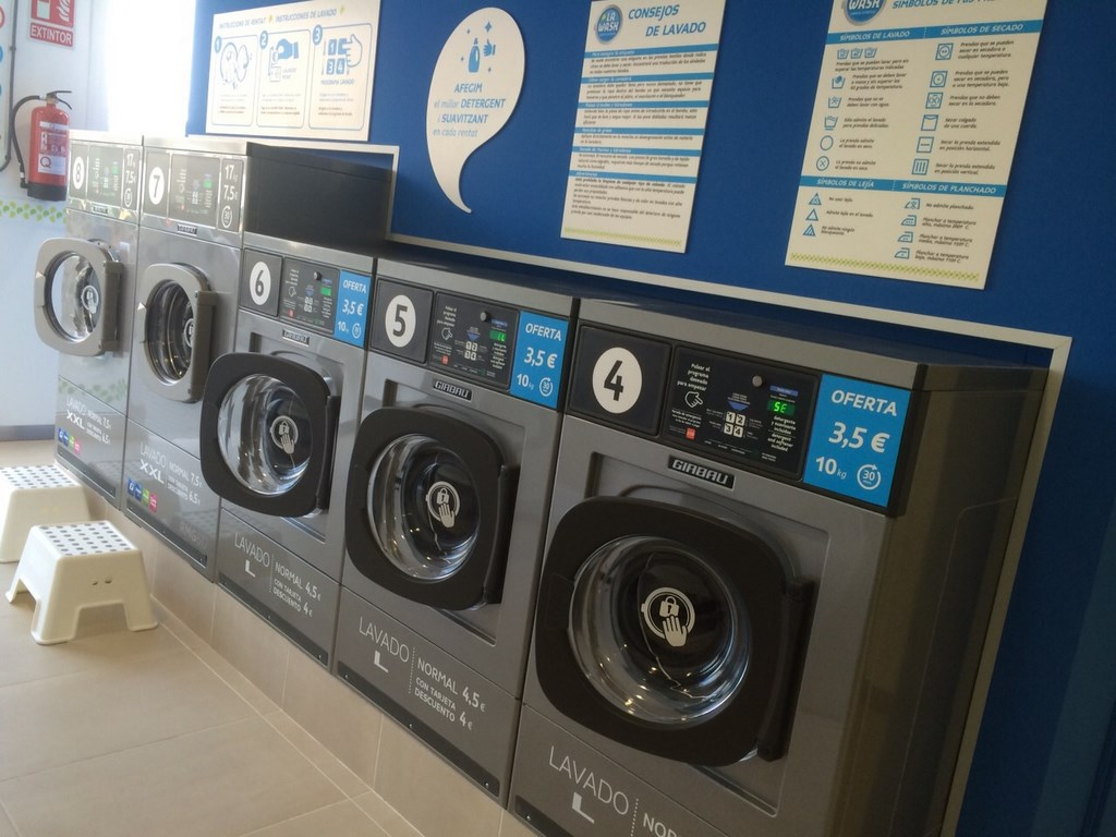 Higiene de la lavadora industrial