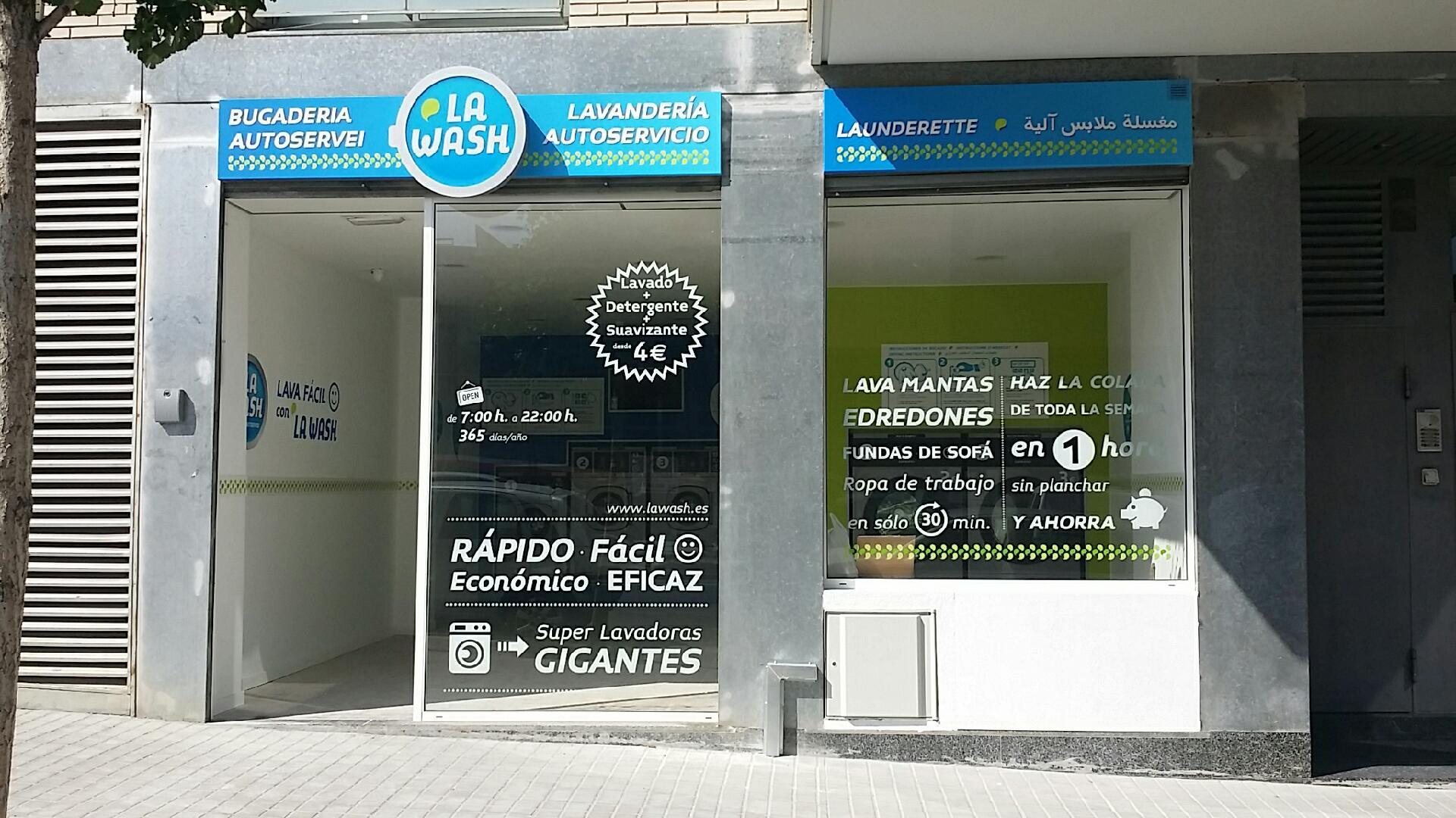 La Wash ha llegado a Sant Boi con una nueva lavandería autoservicio