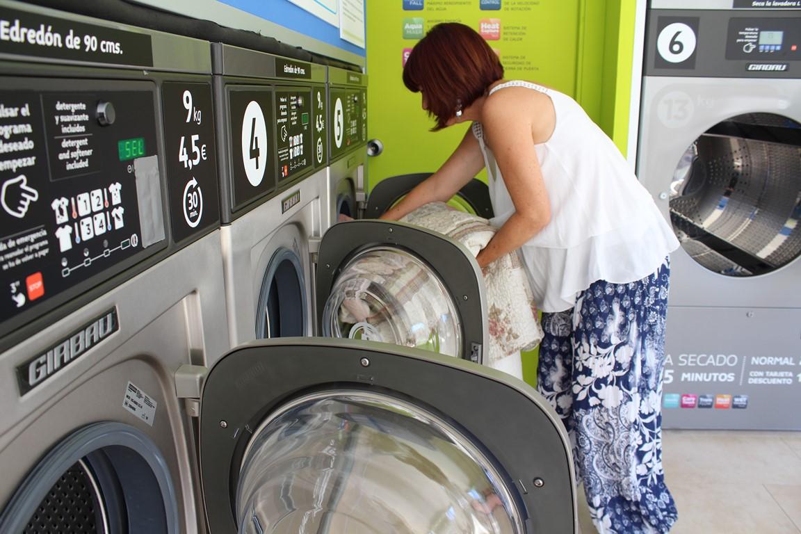 O que fazer numa lavandaria self-service?