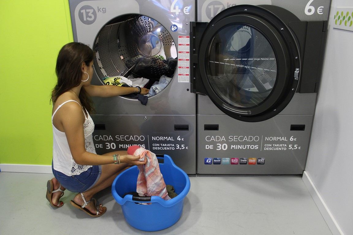 La lavandería automática se integra al edificio inteligente.