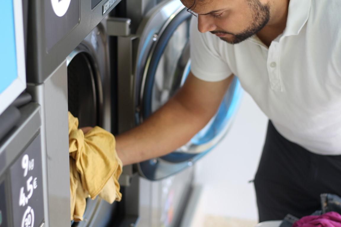 Precios en la lavandería autoservicio