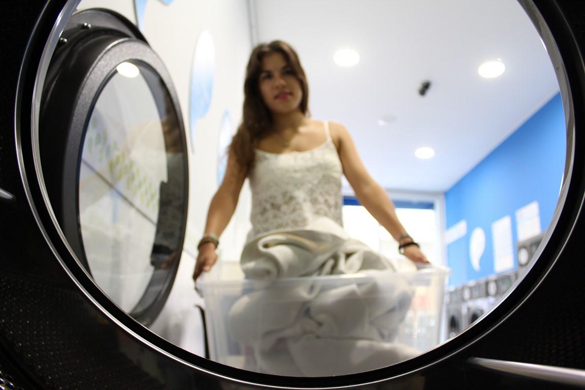 Los detergentes en las lavanderías