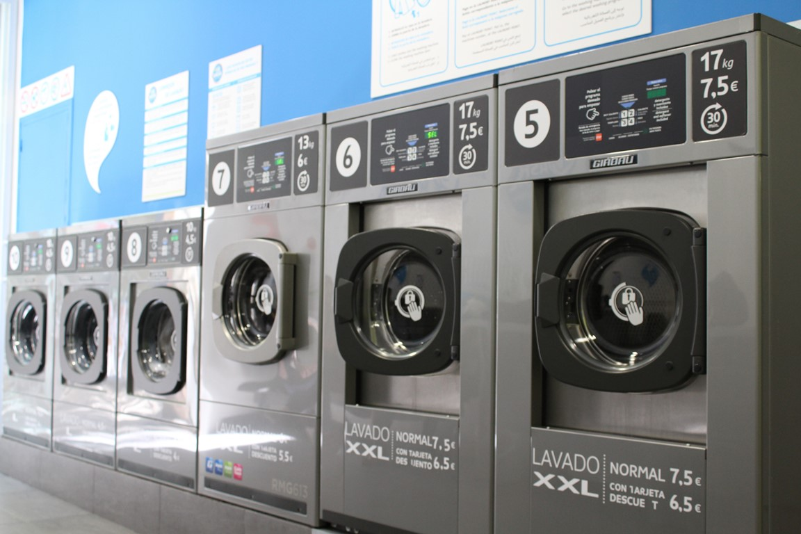 El sector de las lavanderías autoservicio sigue creciendo