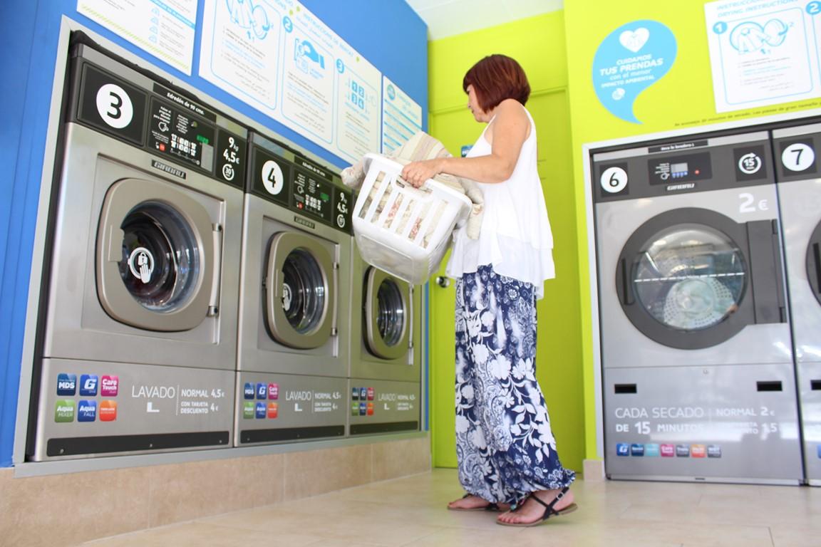 Las lavanderías autoservicio de Sevilla