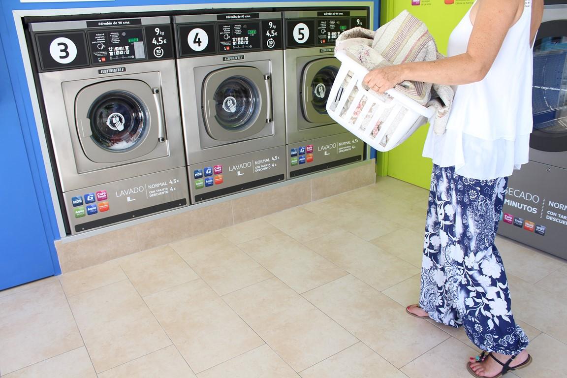 Una nueva lavandería autoservicio La Wash en Galdakao
