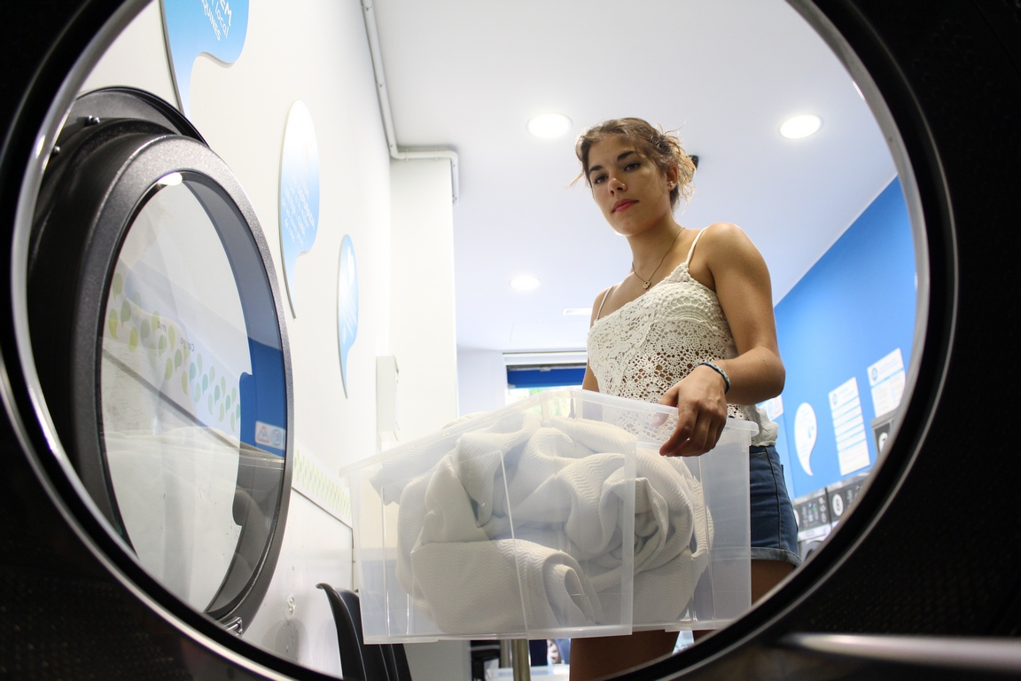 Self-service laundries are a business with a future