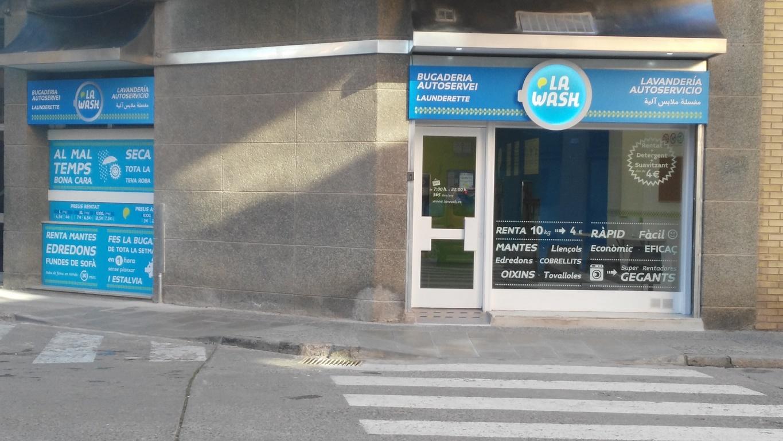 Lavandería autoservicio La Wash Balaguer