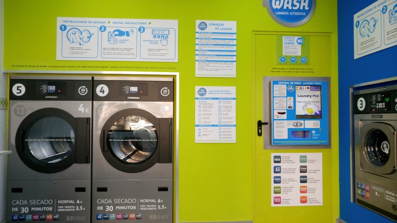 ¿Cómo montar una lavandería doméstica?