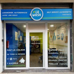 Lavanderías autoservicio La Wash Sevilla