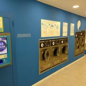 Las lavanderías autoservicio continúan abiertas durante el estado de alarma
