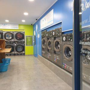 Las lavanderías autoservicio resisten frente al COVID19