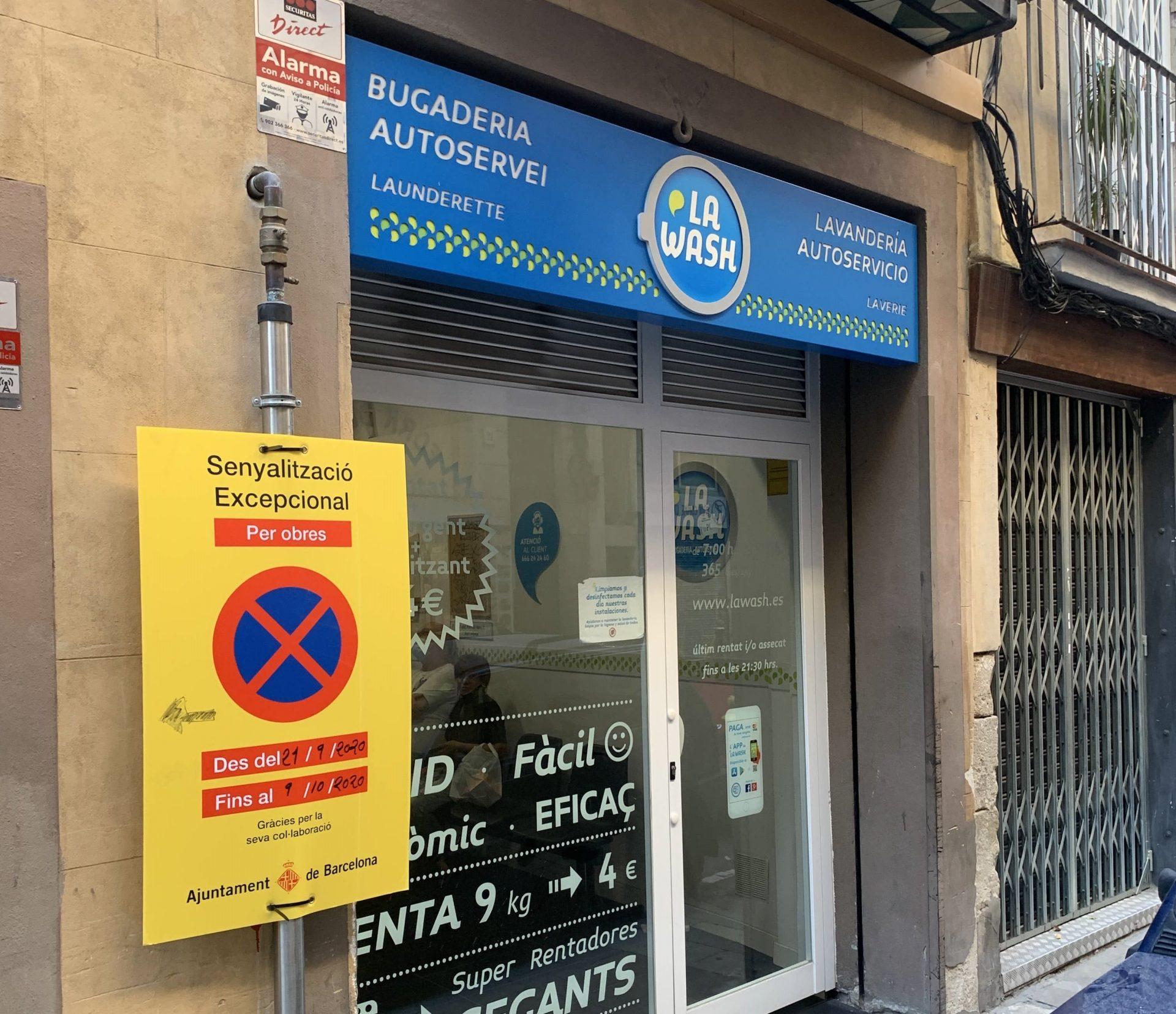Lavandería autoservicio en Portal Nou 7 Barcelona