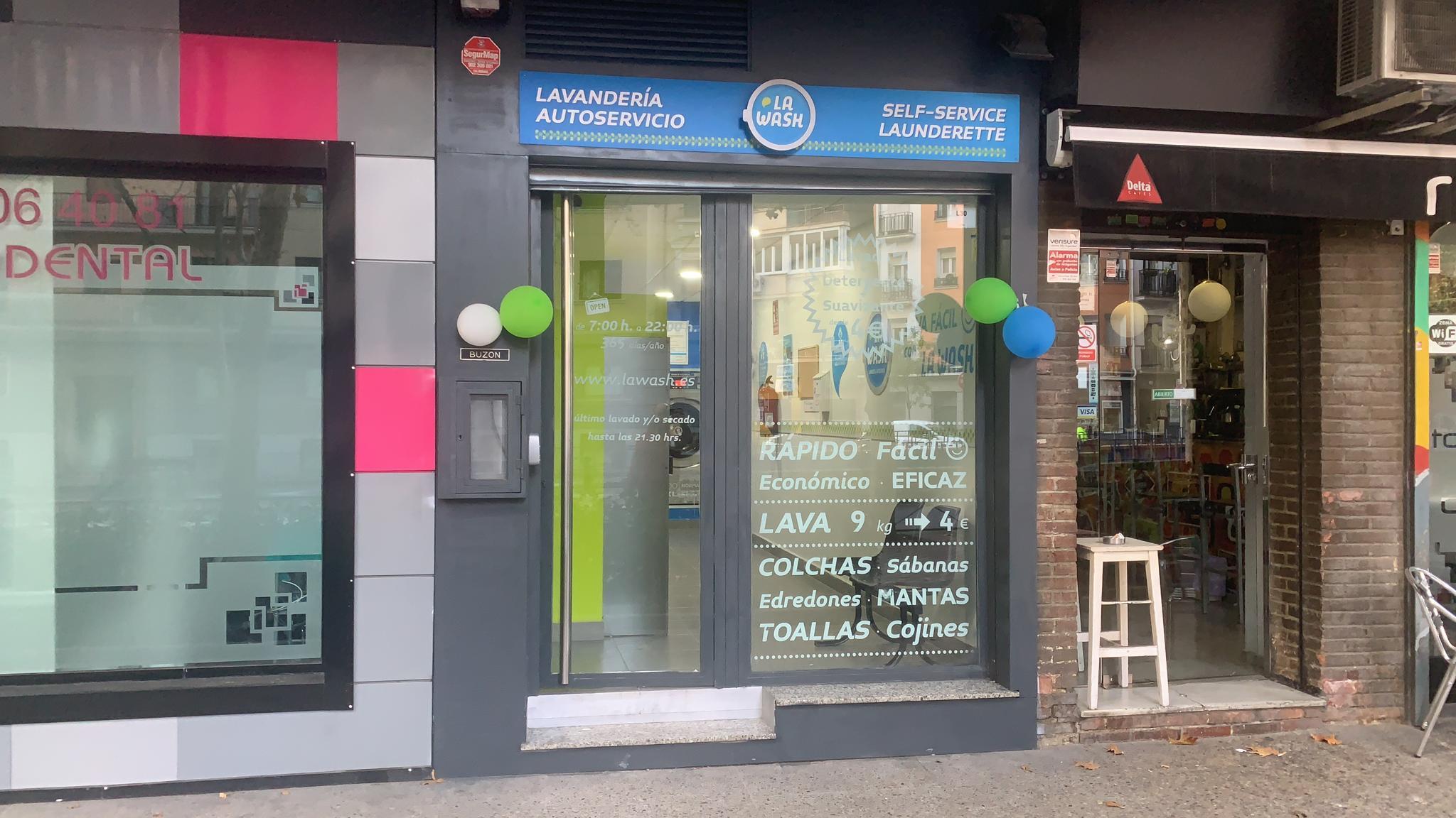 Nueva lavandería La Wash en Madrid