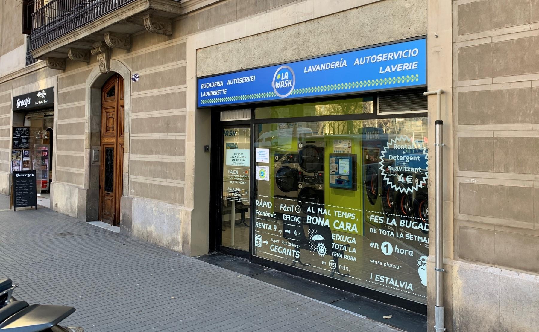 Lavandería La Wash de Valencia 242 Barcelona
